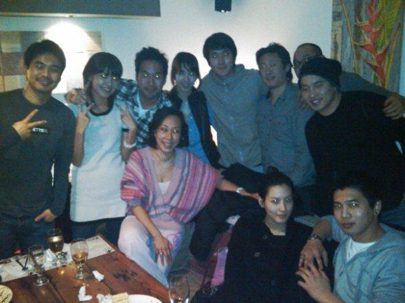 ... merayakan ulang tahun Sooyoung SNSD & foto bareng mantannya Stella Kim