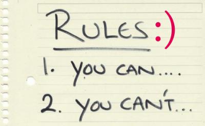 rules copy