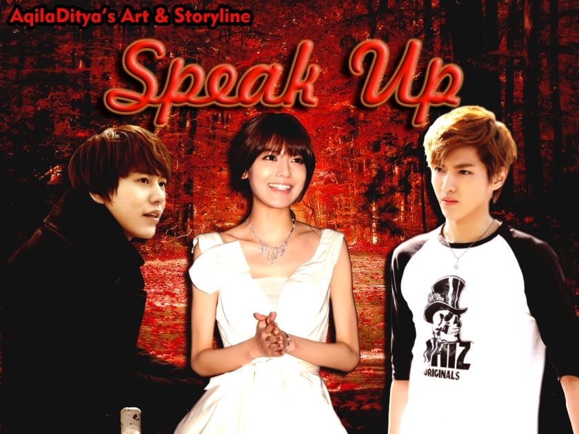 Speak Up New Poster