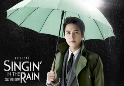 Kyuhyun Singin' in the rain
