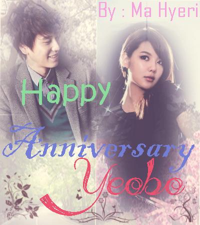 Happy Anniversary Yeobo