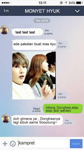 chat hyuk to kyu